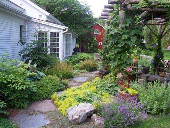 Garden Design by Nancy Hand Higby Intimate country gardens